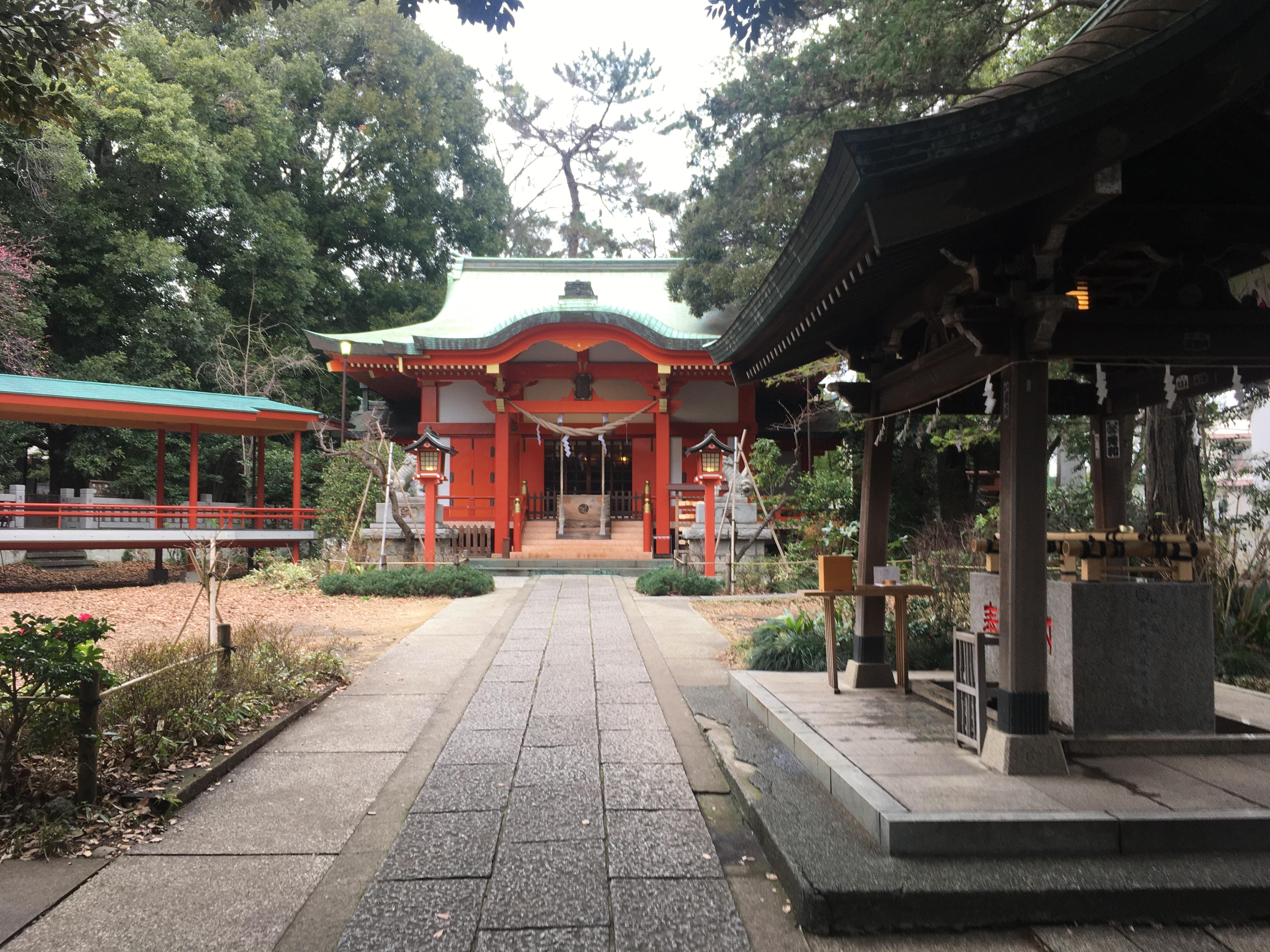 自由が丘,熊野神社,パワースポット
