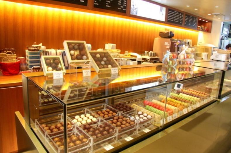 自由が丘,リンツ,ショコラカフェ,チョコレート