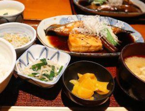仁松庵,自由が丘,ランチ,和食,煮魚