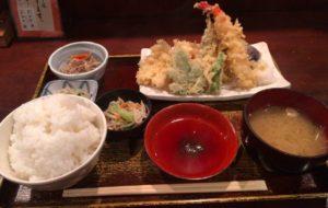 仁松庵,自由が丘,ランチ,和食,天ぷら
