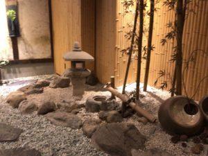 仁松庵,自由が丘,ランチ,和食,玉砂利