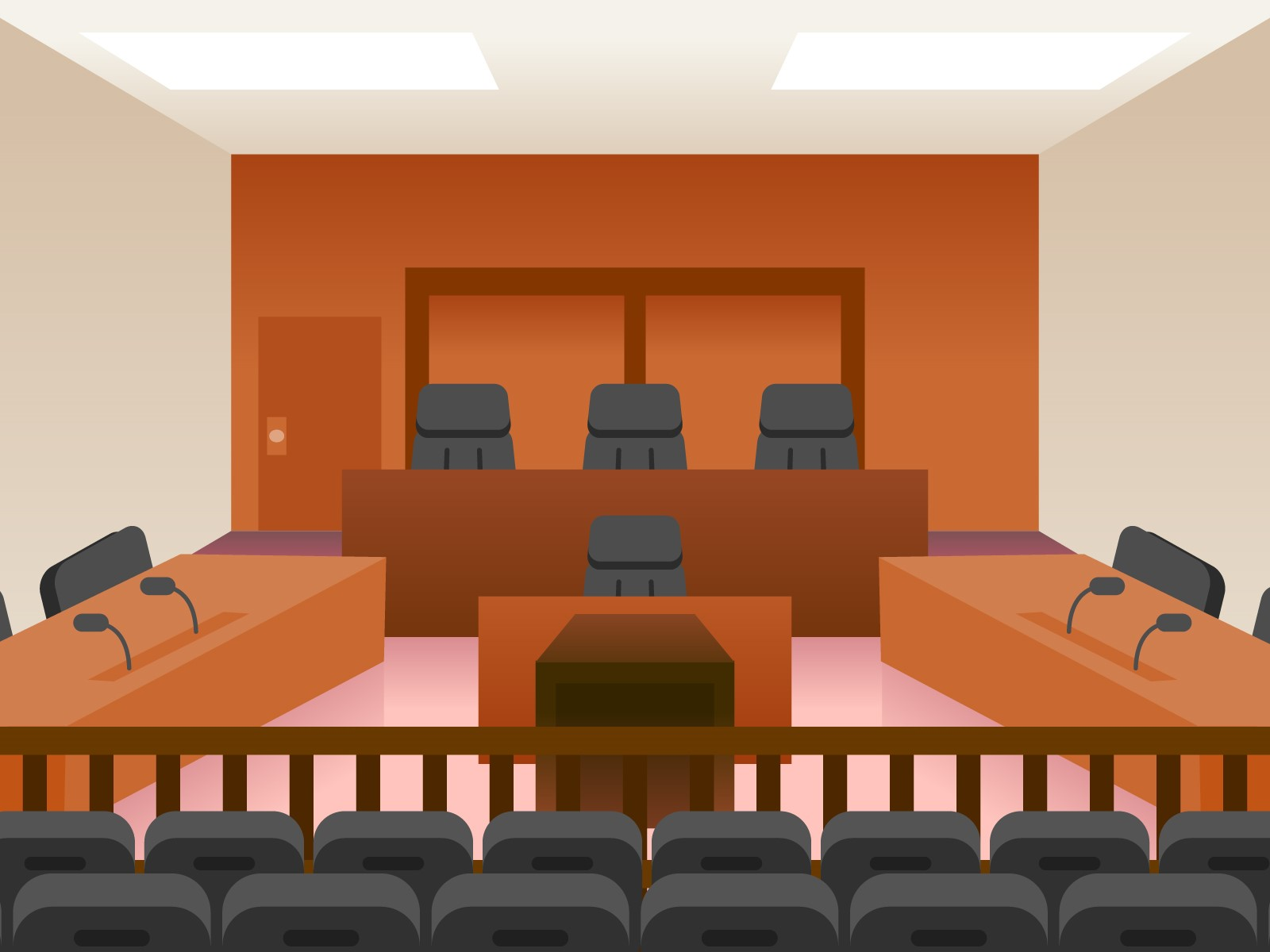 裁判所,裁判事例