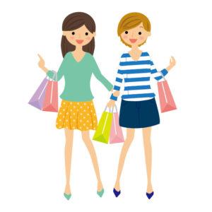 ショッピング,買い物,女の子