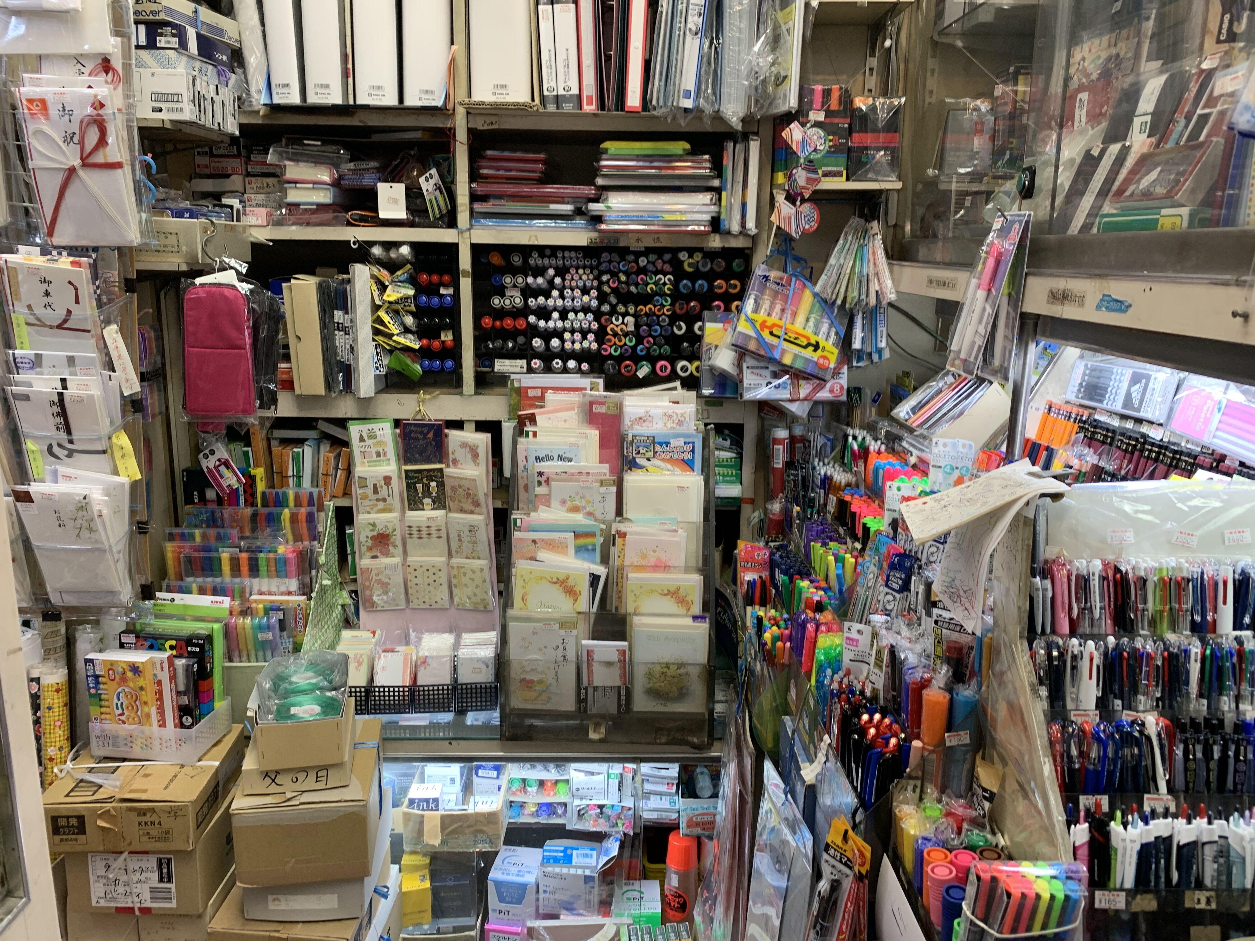 一貫堂文具店,自由が丘,自由が丘デパート,文具,文房具