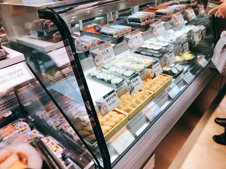 京樽,自由が丘,東急フードショースライス,寿司,大阪鮨,江戸前寿司,チラシ寿司,茶巾寿司